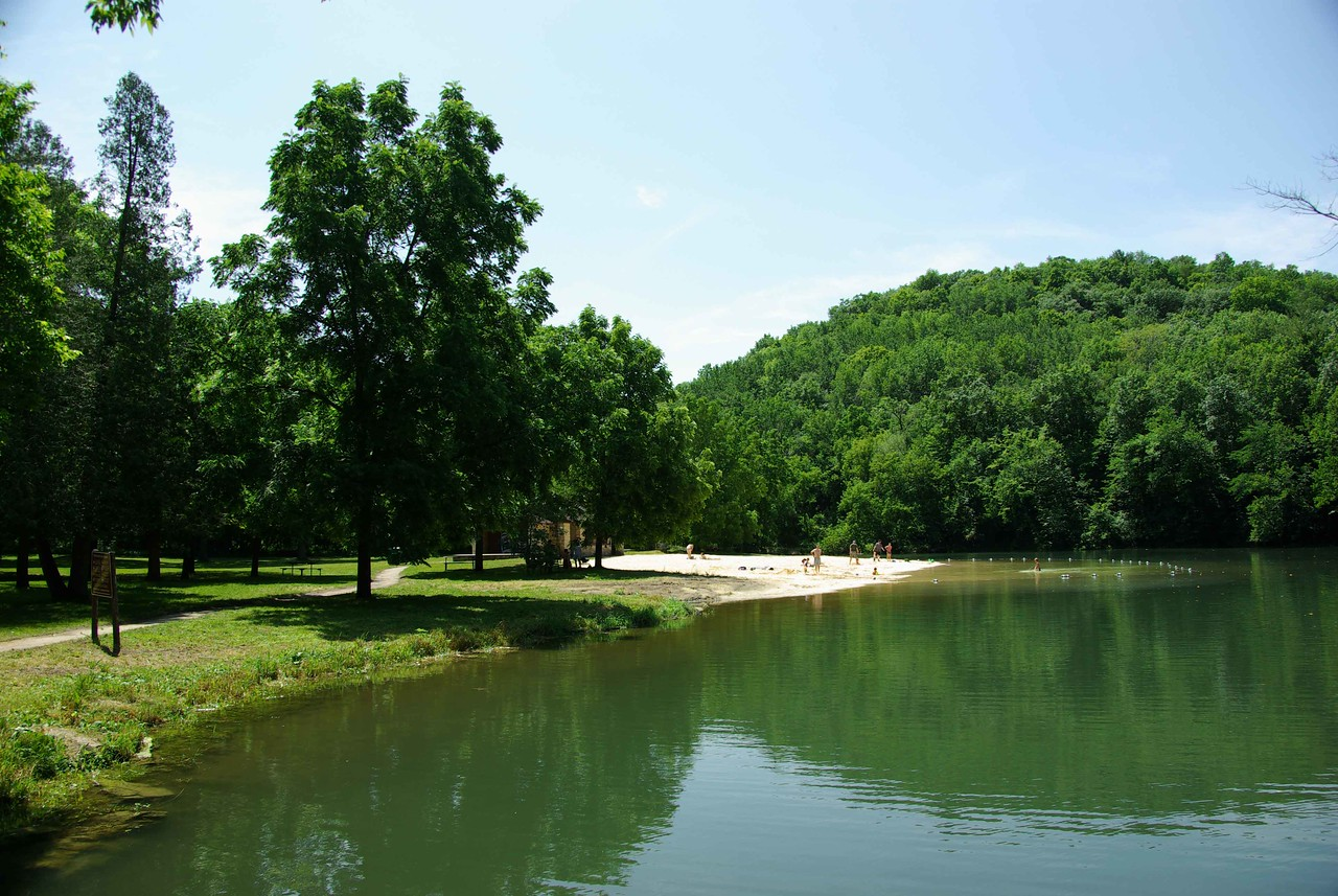 July 2008- Swimming Hole- actually we used to have family picnics here as a kid