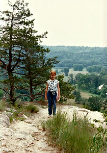 Krista at Whitewater 1988