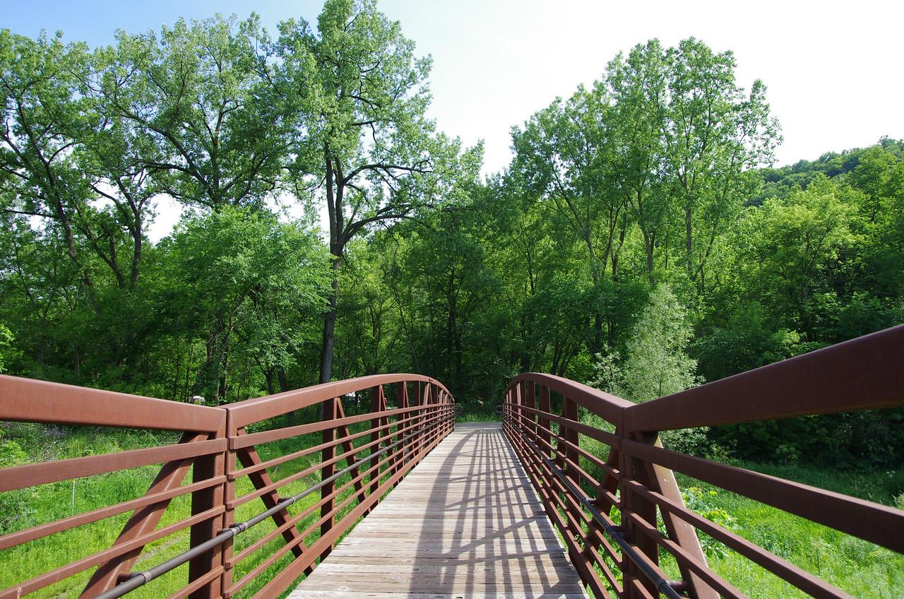 New foot bridge