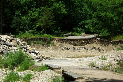 Campground bridge - gone 2008