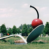 Spoonbridge and Cherry - Minneapolis Sculpture Garden, MN  5-30-99<br /> 11 acres of 40  sculptures.