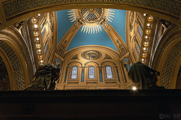 Basilica of St. Mary Church in Minneapolis, MN