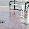 Fountains on Street - Duluth, MN  6-4-99
