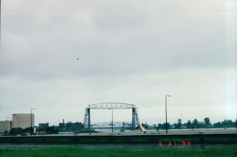 Aerial Bridge - Duluth, MN  5-31-99