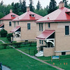 Housing for Lighthouse Keepers - Split Rock Lighthouse State Park - North Shore Drive of Lake Superior, MN  6-1-99<br /> There were 3 that served 8 hour shifts.