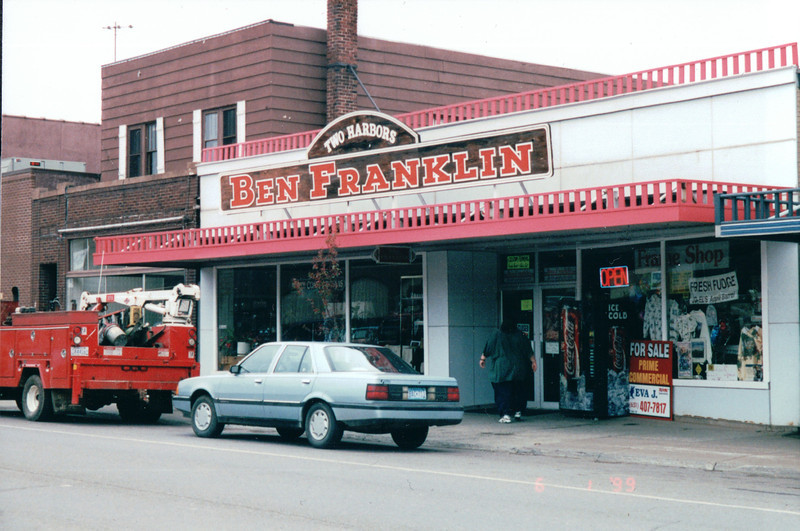 Original Dime Store 1927- Two Harbors, MN - North Shore Drive of Lake Superior, MN  6-1 to 6-2-99