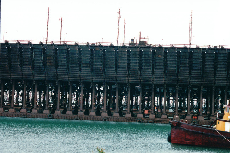 Ore Docks to Load Freighters - Two Harbors, MN - North Shore Drive of Lake Superior, MN  6-1-99