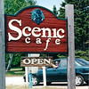 Randal in Rental Car - Headed Back South - Vegetarian Lunch at Scenic Cafe - Outside of Duluth, MN  6-4-99