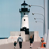 Lighthouse - Canal Park - Duluth, MN Waterfront  6-4-99
