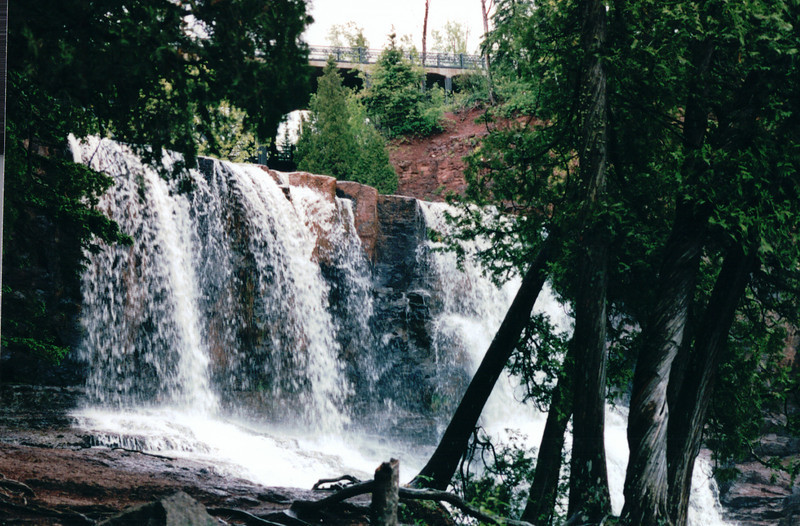 Gooseberry Falls State Park - North Shore Drive of Lake Superior, MN  6-1-99