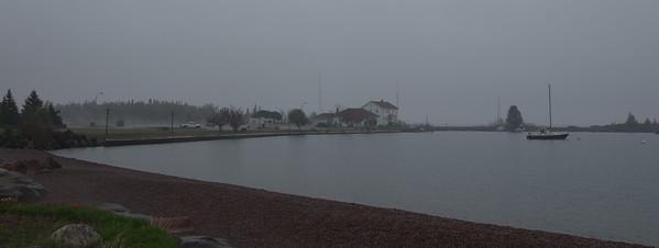 Gray day at Grand Marais