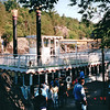 Paddlewheeler Up River Known as Dallas of the St. Croix - Taylor Falls, MN  6-4-99