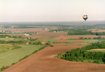 Ballooning over Wisconsin
