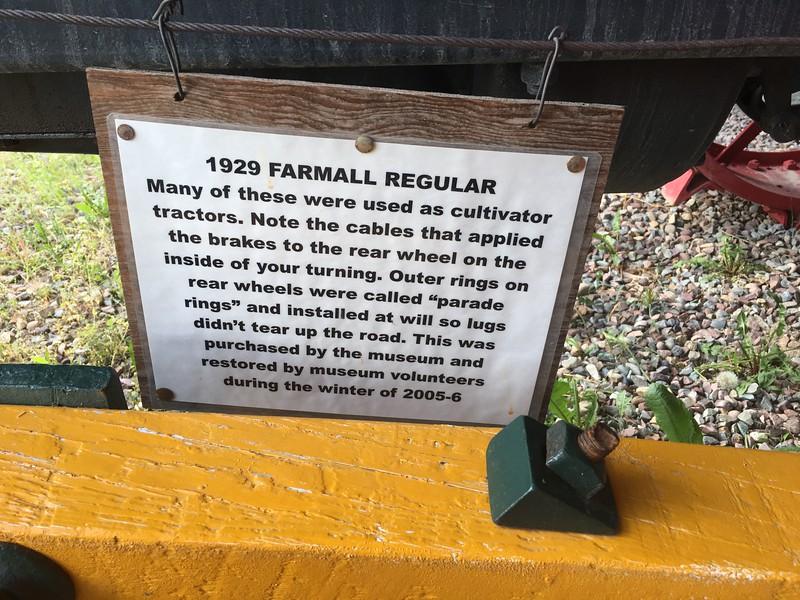 Yep, old tractors