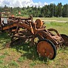 Ancient road grader