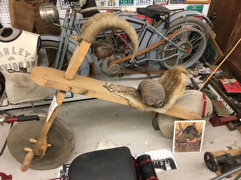 Flintstone cycle - it's a joke!