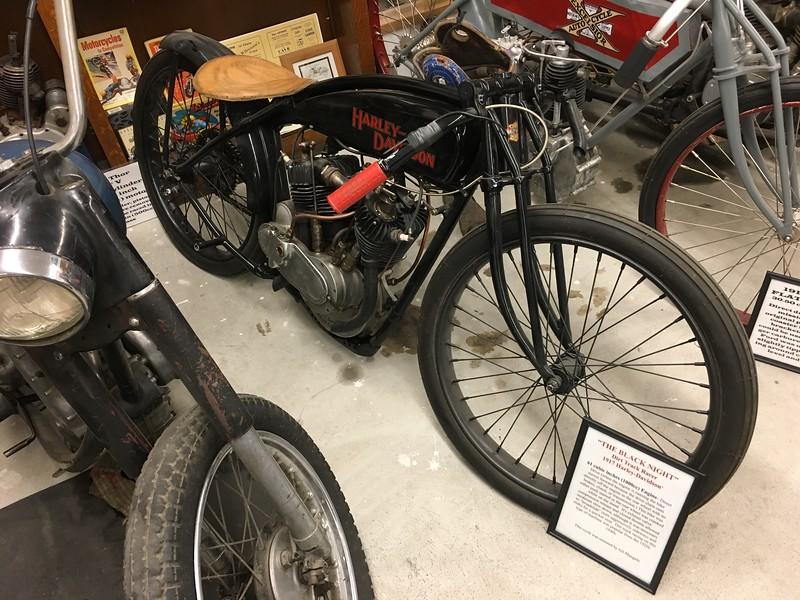 1917 Harley dirt bike
