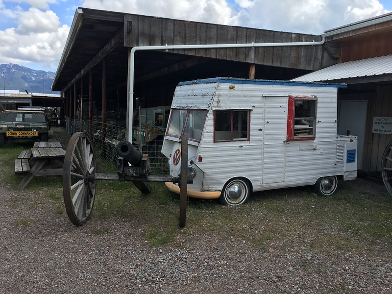 Cannon protecting the RV!