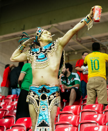 Mexican Warrior at the World Cup