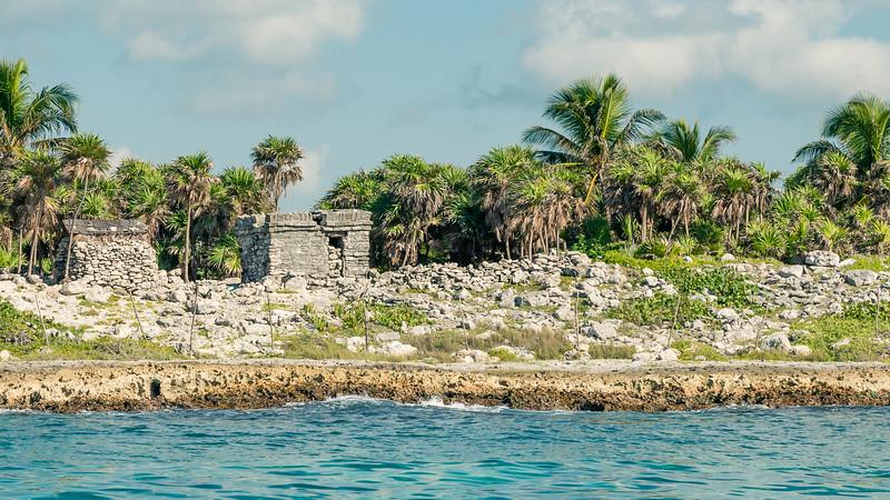 Ocean Front Mayan Ruins
