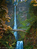 Multnomah Falls on the Columbia RIver, Oregon