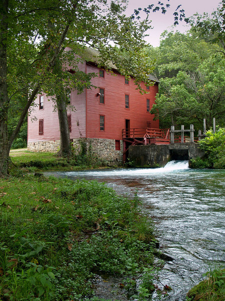 Alley Springs State Park Mill near Eminence, MO