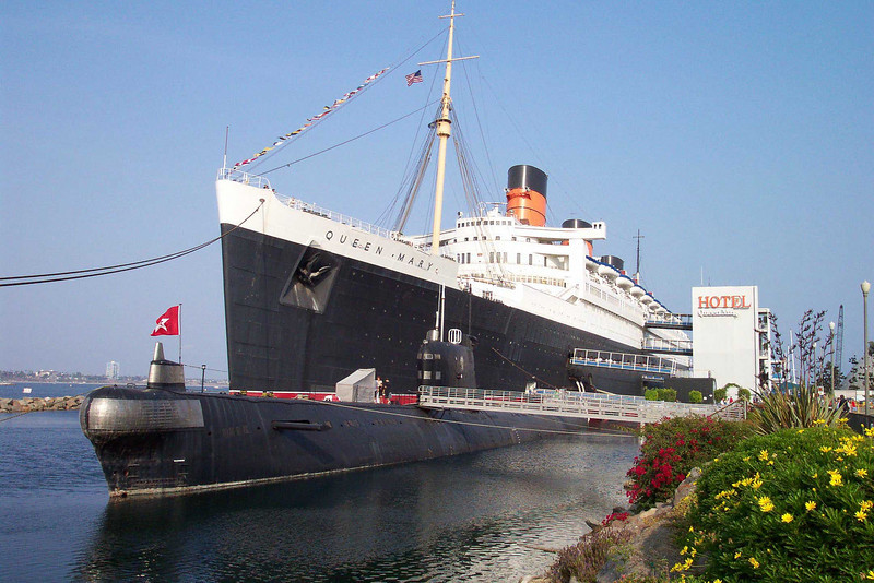 Queen Mary, Longbeach, CA