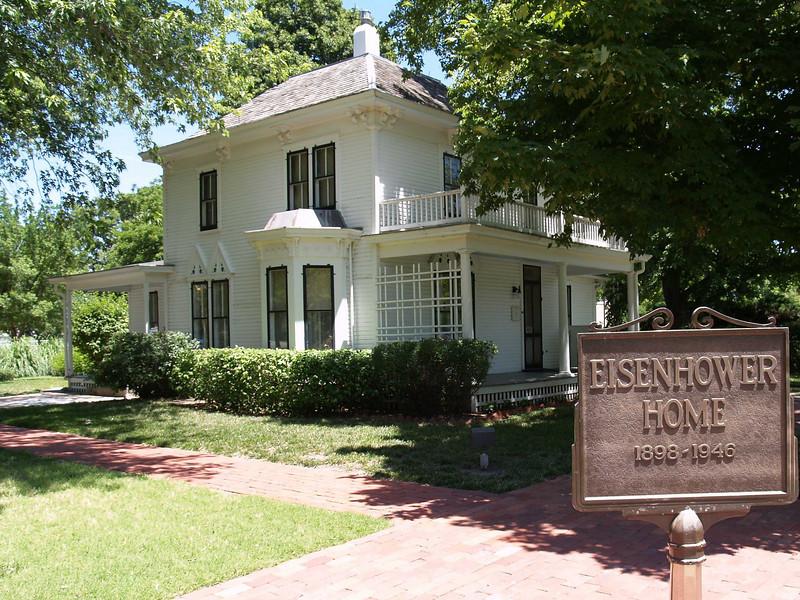 Boyhood home of President Dwight D. Eisenhower, Abilene, KS