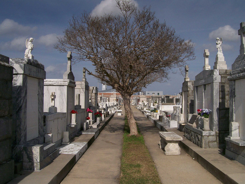 """""""Cities of the Dead""""  Cemetery, New Orleans, LA"""