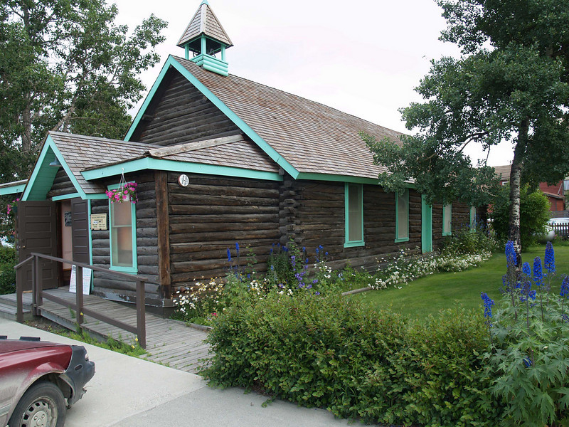 Scenic Church in WHitehorse, Yukon Territory, Alaska