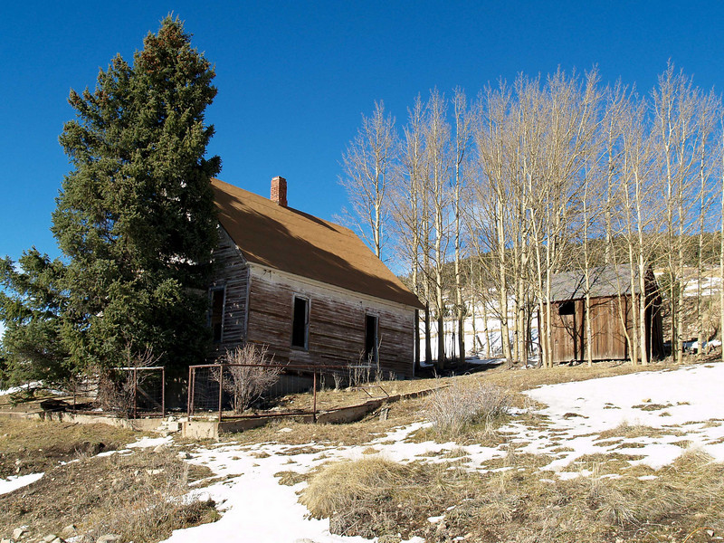 Gold Mining house, Victor, CO