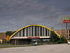 McDonalds spanning over I-44 at Vinita, Oklahoma