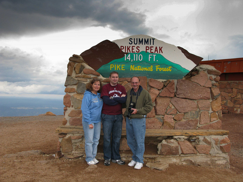 Cooling of at Pikes Peak, Colorard