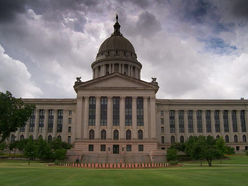 Oklahoma State Capital, Oklahoma City, Oklahoma