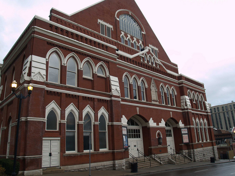 "The Historic Ryman Auditorium, original home of the ""Grand Ole Opry"" Nashville, TN"