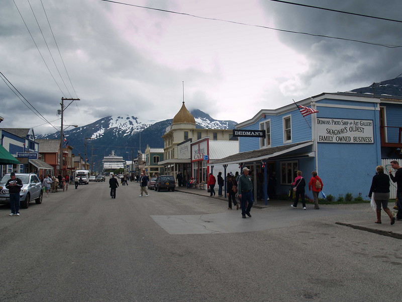 Downtown Skagway, Alaska