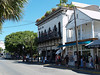 Typical Duval Street, Key West, Florida