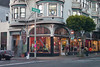The Haight-Ashbury district is noted for its role as a center of the 1960s hippie movement, San Francisco, CA