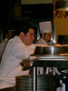 Chef Emril Lagassee preparing meals at his New Orleans Resturant, LA