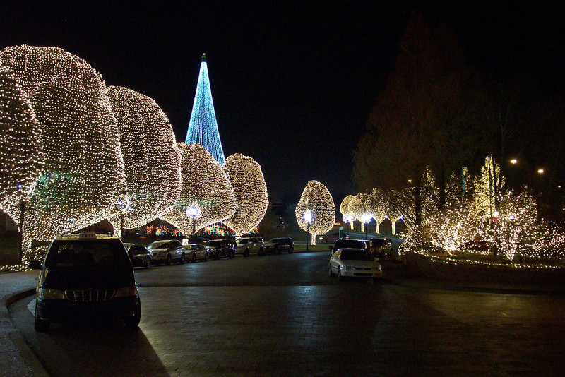 Christmas Lights, Opryland Hotel, Nashville, TN