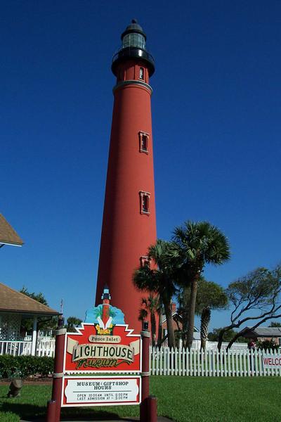 Ponce Inlet Lighthouse, Daytona Beach, Florida
