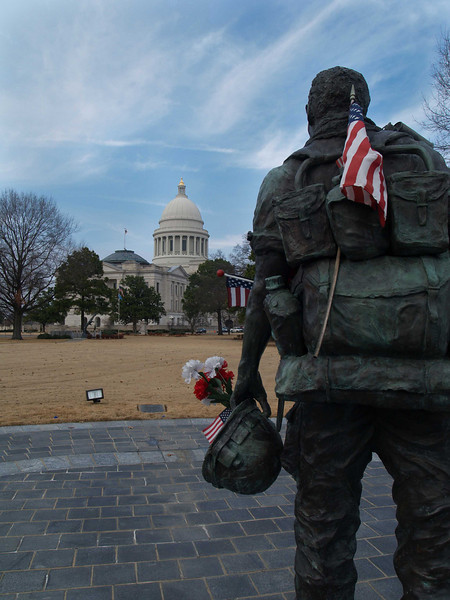 Viet Nam Monument at State Capital of Arkansas, Little Rock, AR