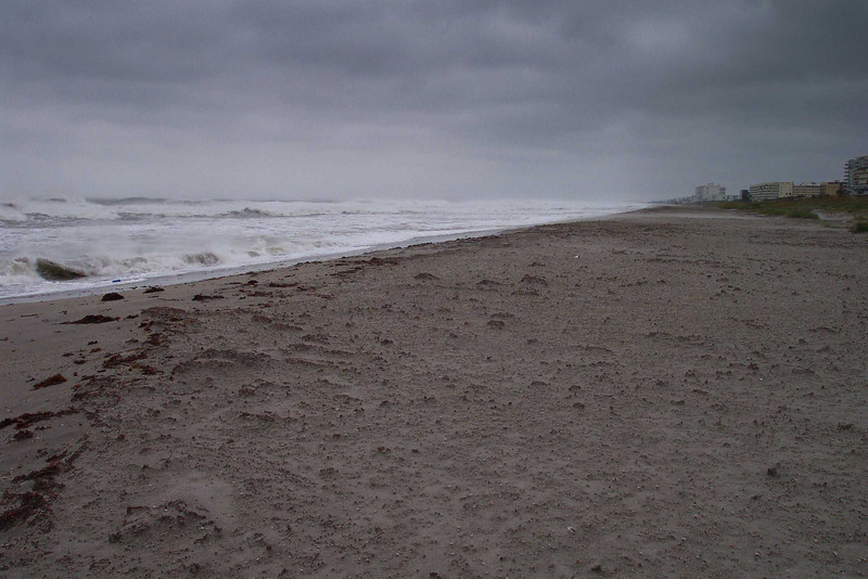 Coco Beach, Florida during Huricaine Wilma