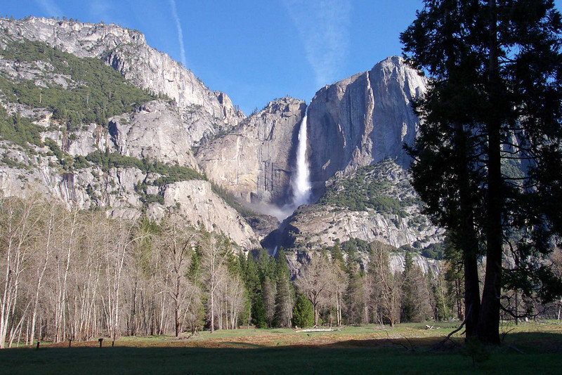 Yosemite Falls is the highest measured waterfall in North America. Located in Yosemite National Park in the Sierra Nevada of California