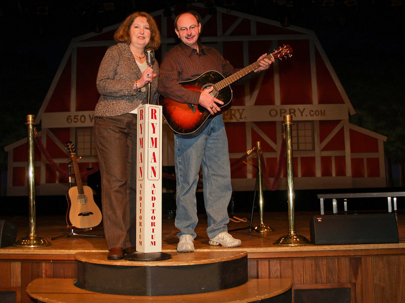 Proof certain that we have preformed on the Grand Old Opry Stage.