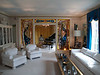 Living room of Elvis Presley's Graceland, Memphis, TN