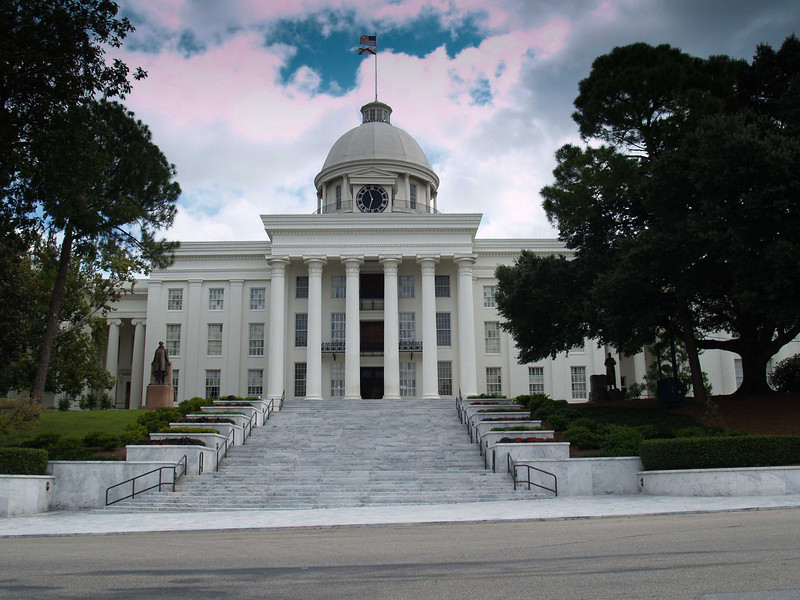 State Capital of Alabama, Montgomery, AL