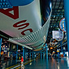 Title: Play Time<br /> Date: October 2008<br /> Cape Canaveral FL - The Saturn V rocket at Kennedy Space Center in Florida.