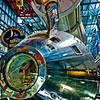 Title: CSM<br /> Date: October 2008<br /> Cape Canaveral FL - The Command Module of the Saturn V Rocket.