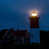 Title: Nauset Lighthouse<br /> Date: August 2009<br /> Cape Cod MA - Nauset Lighthouse, which is next to the National Seashore National Park.